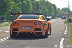 跑车和超级跑车加速!本田NSX,JDM日产GT-R