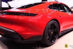 2020年保时捷泰Taycan Turbo,首次亮相2019年法兰克福车展