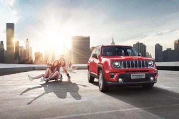 成都车展,全新Jeep自由侠1.3T首秀