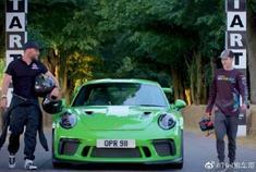 汽车视频:无人机大战保时捷 911 GT3 RS