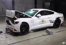 福特野马-碰撞测试,很不错的哦