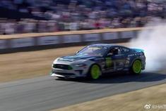 汽车视频:沃恩基丁的 Mustang 漂移表演