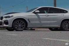 全新宝马X4划时代的中型COUPE SUV,驾驶感受不错哈!