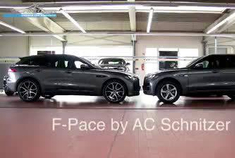 AC Schnitzer 捷豹 F-Pace 升级前后的对比视频,效果一目了然!