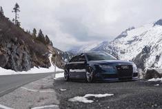 英国TTS机械增压套件上身,一台精致的 Audi RS4 B7