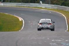 新款 BMW M3 G80 开始在纽博格林测试。