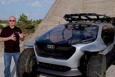 奥迪最新概念车,竟给大灯装上无人机,一开灯瞬间飞上天