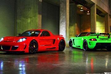 开不起保时捷Carrera GT买台Toyota MRS来变身吧