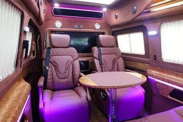 国产奔驰V260L全新改装内饰!有航空座椅电视和床,一车多用!
