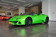 兰博基尼Lamborghini Huracan EVO,640匹马力的巨兽