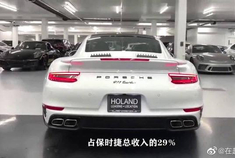 这是全球最赚钱的超跑,看保时捷911如何实现利润最大化。