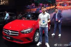 2019成都车展奔驰B200 High 家族式前脸富有运动感