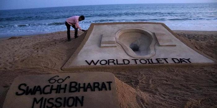 莫迪为印度建1亿间厕所获盖茨表彰 10万人却反对