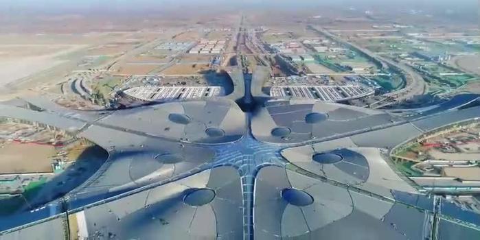 """北京大兴机场今日通航 被誉为""""世界第七大奇?!? class="""