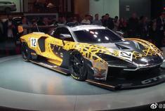 极限814bhp迈凯伦赛纳GTR在日内瓦2018展会上展示