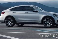 2020年奔驰GLC轿跑车-内饰,外观和驾驶