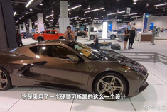 C8科尔维特OC车展首秀,中置后驱不到6万美元,你还会爱GT-R吗