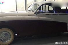 60年前的捷豹跑车,又大又优雅,太喜欢了