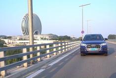 汽车视频:百公里油耗7.6L,试驾奥迪Q5L