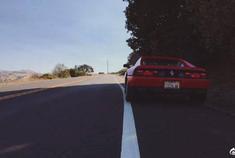 经典美车法拉利348,看看是不是你梦想中的样子吧!
