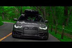 汽车视频:Audi A6 Avant改装姿态欣赏