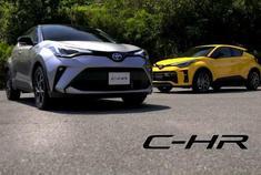 【新增GR Sport版】小改款丰田C-HR发布,新推GR Sport版车型。