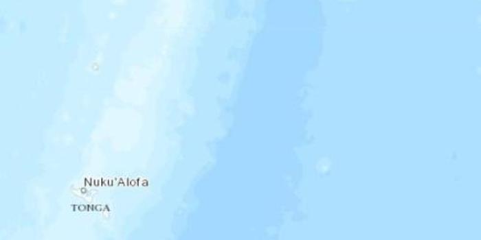 湯加東北部海域發生5.1級地震 震源深度10千米