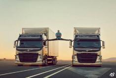 广告大师沃尔沃卡车所有广告合集,这些广告做的真的太帅了!