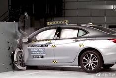 日本车真不安全!看完讴歌TLX碰撞测试心里就有数了!