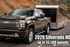2020年雪佛兰Silverado HD -耐久性测试。