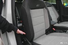 探歌R-line前排座椅腰部支撑调节示意