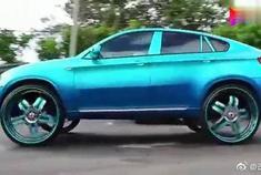 换了30寸大轮毂的宝马X6,很是帅气!你们觉得呢?