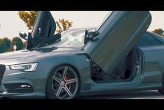 汽车视频:剪刀门奥迪A5,喜欢吗?