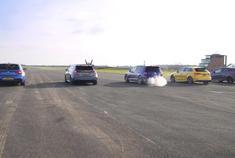 奔驰A35 vs 宝马M140i vs 高尔夫R vs 奥迪S3 vs 福特 福克斯RS
