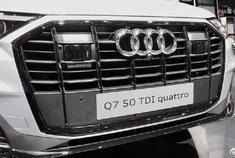 2020款奥迪Q7 50TDI,外观和内饰高清实拍