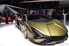 兰博基尼sian这款车也太漂亮了吧?来看看这款的参数吧