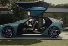 全新雷克萨斯LF-30电动概念车推出