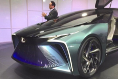 这台LF30概念车或是雷克萨斯全面电动化战略的开始