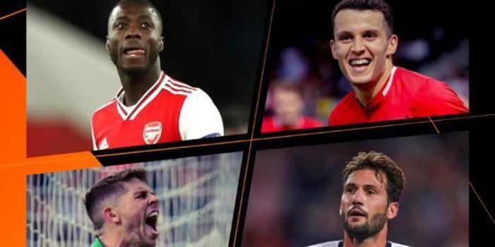 欧联杯周最佳球员候选:阿森纳妖星领军