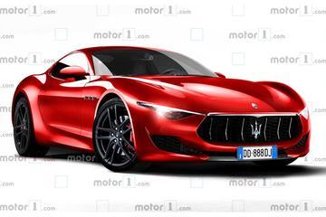 瑪莎拉蒂全新跑車Alfieri渲染圖曝光,有望2020年發布/純電驅動