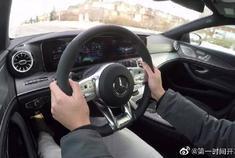 2019奔驰Mercedes-AMG CLS 53,太喜欢这个仪表盘了