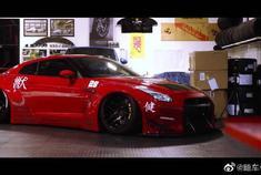 LB宽体Nissan GT-R R35,这跑车有没有跑进你的心?