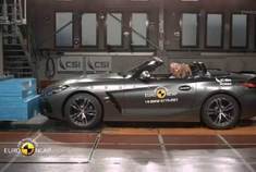 2020年宝马Z4,宝马3系,宝马1系-EURO-NCAP碰撞安全测试