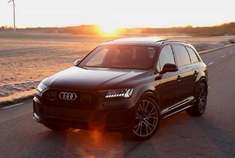 2020 Audi Q7 50TDI QUATTRO+Black Optics黑色选装件