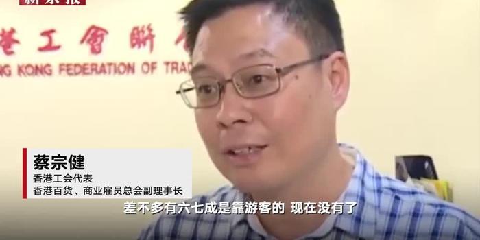 香港乱局重创旅游零售业 工会代表:雇员工资猛降