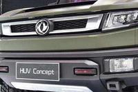 东风风神HUV,整车的设计造型更加侧重于军用风,秒杀牧马人