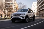 续航可达305公里 雷诺e诺姊妹车型 达契亚Dacia Spring欧洲发布