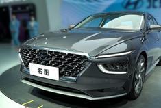 广州车展 | 全新现代名图发力家轿市场,车内质感提升太大了