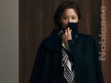 韩国女艺人高贤贞最新杂志写真曝光气质酷