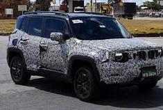 外观小幅调整 新款Jeep自由侠谍照曝光-视频版